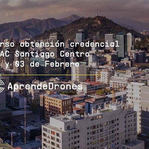 Obtención credencial DGAC Santiago Centro 02 y 03 de Febrero