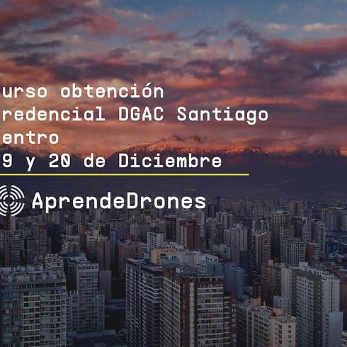Obtención credencial DGAC Santiago Centro 19 y 20 de Diciembre