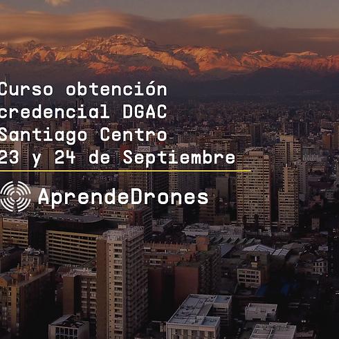 Obtención credencial DGAC Santiago Centro 23 y 24 de Septiembre