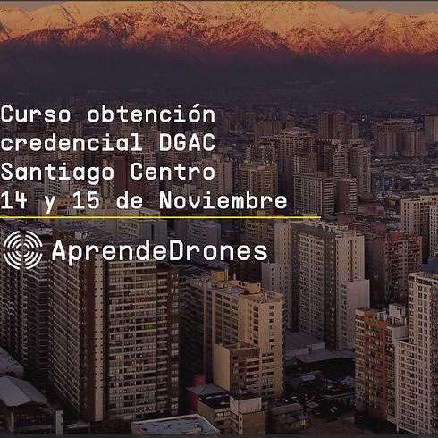 Obtención credencial DGAC Santiago Centro 14 y 15 de Noviembre