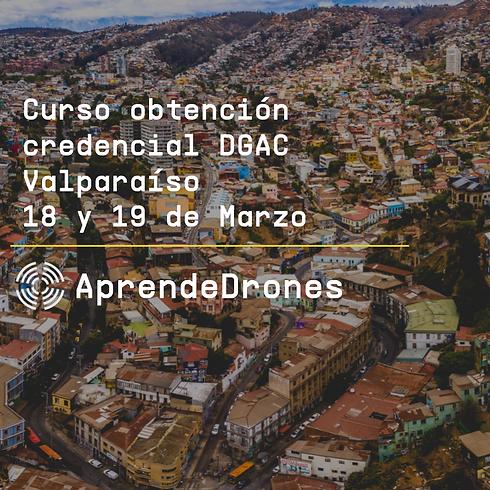 Obtención credencial DGAC Valparaíso 18 y 19 de Marzo