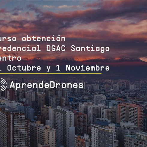 Obtención credencial DGAC Santiago Centro 31 de Octubre y 01 de Noviembre