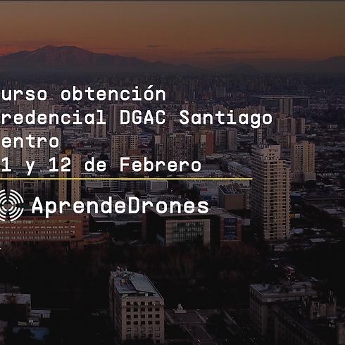 Obtención credencial DGAC Santiago Centro 11 y 12 de Febrero