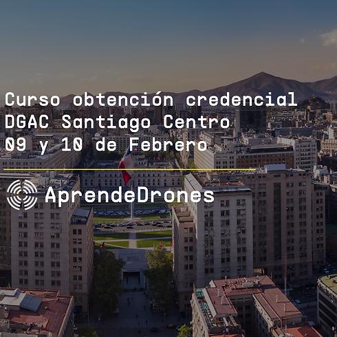 Obtención credencial DGAC Santiago Centro 09 y 10 de Febrero