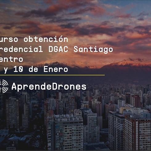Obtención credencial DGAC Santiago Centro 09 y 10 de Enero