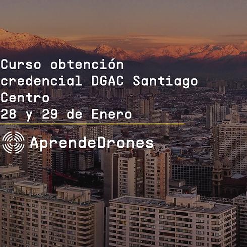 Obtención credencial DGAC Santiago Centro 28 y 29 de Enero