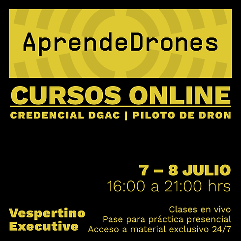 Obtención credencial DGAC ONLINE 07 y 08 de JULIO Vespertino