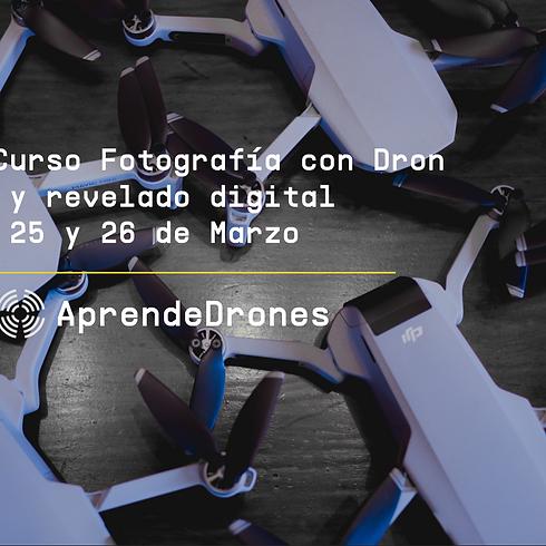 Fotografía con Dron y Revelado Digital Santiago Centro 25 y26 de Marzo