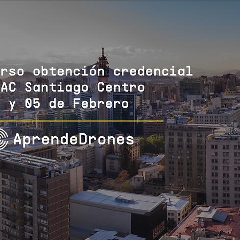 Obtención credencial DGAC Santiago Centro 04 y 05 de Febrero