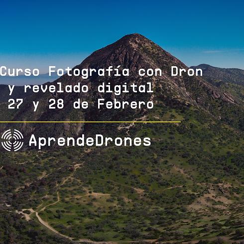 Fotografía con Dron y Revelado Digital Santiago Centro 27 y 28 de Febrero