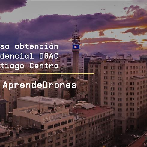 Obtención credencial DGAC Santiago Centro  2 y 3 de Septiembre