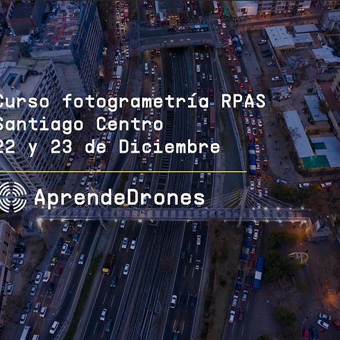 Fotogrametría RPAS Santiago Centro 22 y 23 de Diciembre