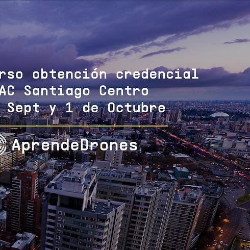 Obtención credencial DGAC Santiago Centro 30 de Septiembre y 01 de Octubre
