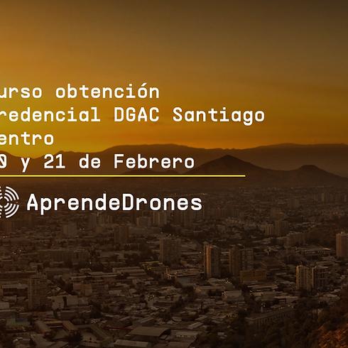 Obtención credencial DGAC Santiago Centro 20 y 21 de Febrero