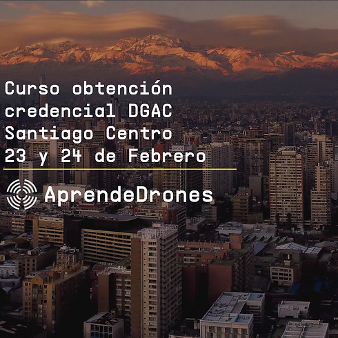 Obtención credencial DGAC Santiago Centro 23 y 24 de Febrero