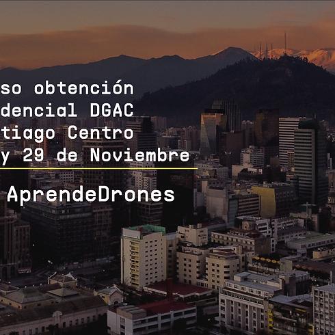 Obtención credencial DGAC Santiago Centro 28 y 29 de Noviembre
