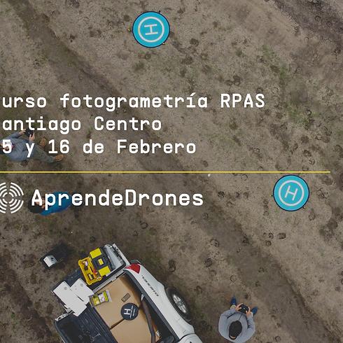 Fotogrametría RPAS Santiago Centro 15 y 16 de Febrero