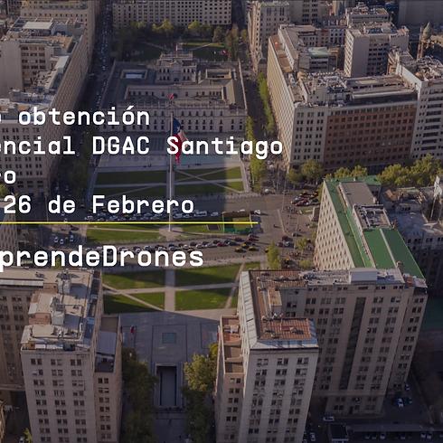 Obtención credencial DGAC Santiago Centro 25 y 26 de Febrero