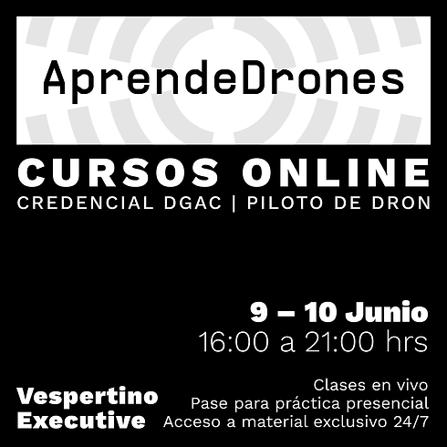 Obtención credencial DGAC ONLINE 09 y 10 de JUNIO Vespertino