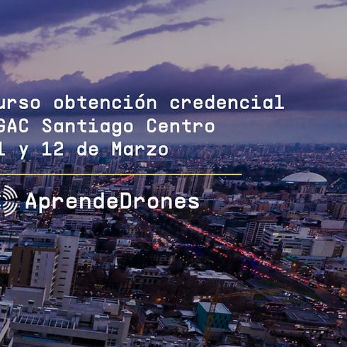 Obtención credencial DGAC Santiago Centro 11 y 12 de Marzo