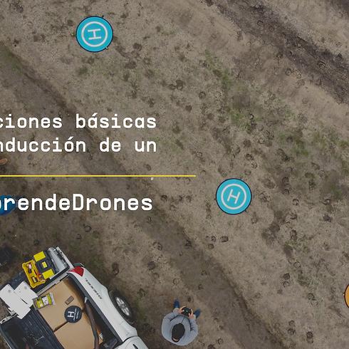 Operaciones Básicas de conducción de un Dron