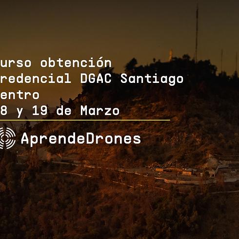 Obtención credencial DGAC Santiago Centro 18 y 19 de Marzo
