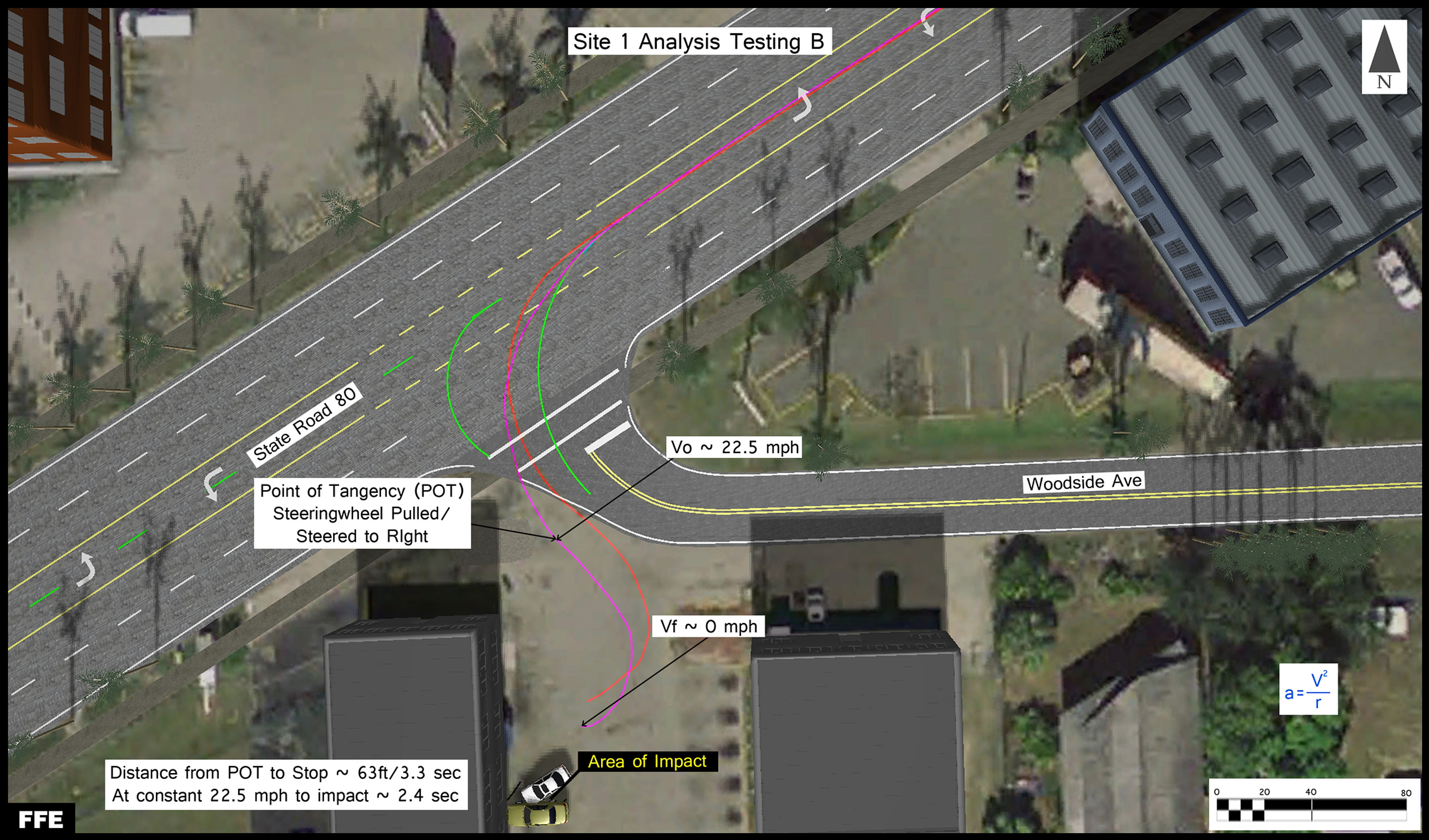Fischer Forensic Engineering Florida Accident Reconstruction - Florida map testing