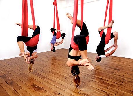 Aerial Hammock Fitness