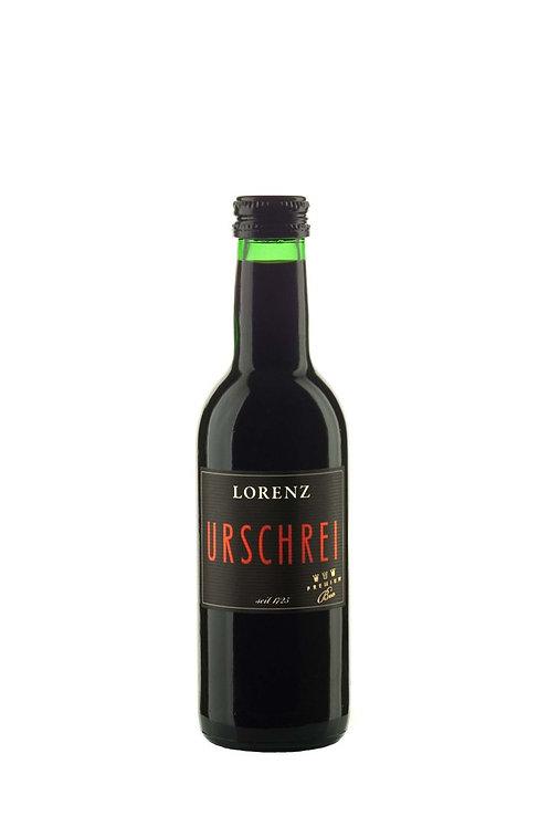 BIO-Rotwein Urschrei Cuvée trocken, 0,25l