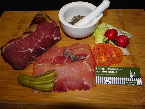 Limesrauchfleisch von der Ostalb mit Whiskey-Pfeffer-Note - 3,10€/100g