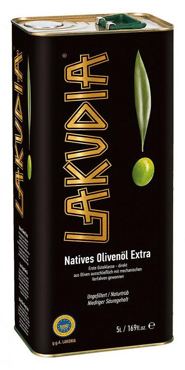 5l Lakudia extra natives naturreines Olivenöl im Kanister