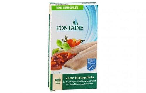 Fontaine Heringsfilets in Bio-Tomatencreme, 200g