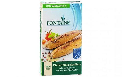Fontaine Pfeffer-Makrelenfilets in BIO-Sonnenblumenöl, 190g