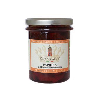 BIO Paprika in Öl von San Vicario, 180g
