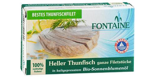 Fontaine Heller Thunfisch in Sonnenblumenöl, 120g