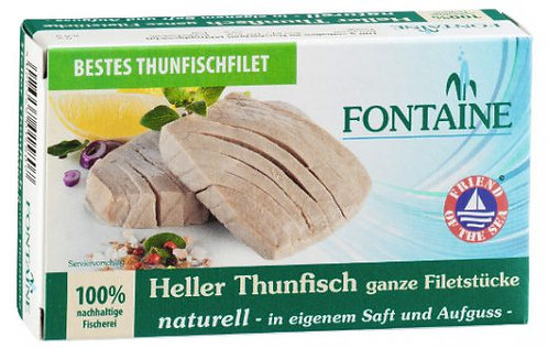 Fontaine Heller Thunfisch naturell, 120g