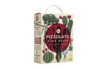 Pizzolato Bag-in-Box rosso, 3 Liter, Bio