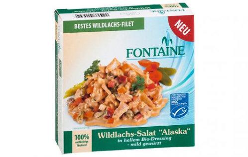 "Fontaine Wildlachs-Salat ""Alaska"", 200g"