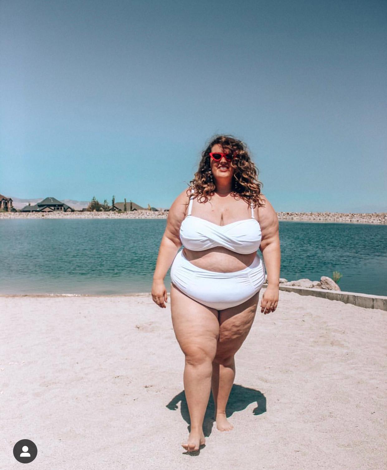 e975147c6b6 valentine White Bandeau Bikini with Shirred Brief