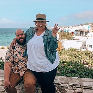 Stefani & Kelly Greece