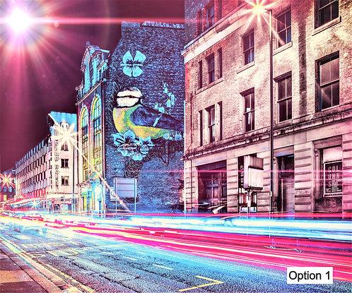 Manchester Street Art (12 Options)