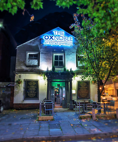 The Ox Noble Pub (Castlefield Manchester)