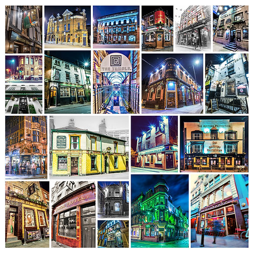 Forex Panel Print - Manchester Pubs Montage