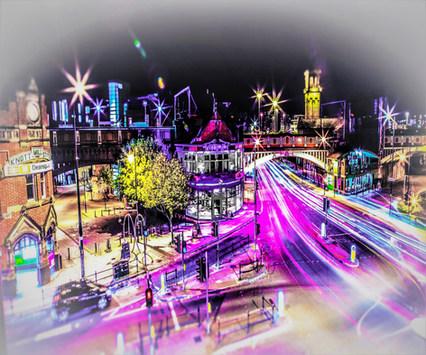 Deansgate Lights, Manchester