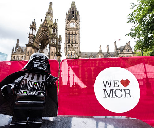 Darth Vader Star Wars - Manchester (Lego Minifigures)