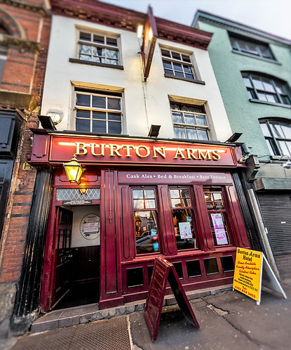 Burton Arms Pub (Northern Quarter Manchester)