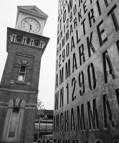 Altrincham Clock Tower & Totem