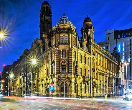 Manchester Picadilly Old Fire Station