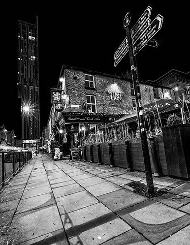 The White Lion Pub (Deansgate Manchester)