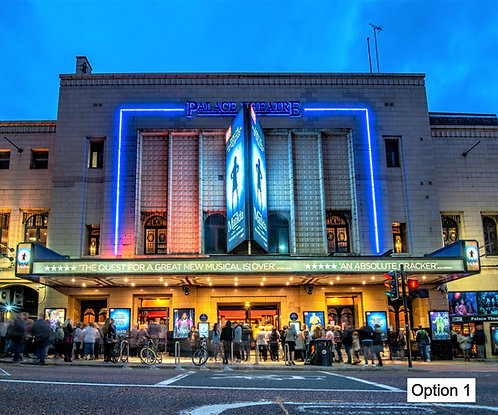 Manchester Palace Theatre (4 options)